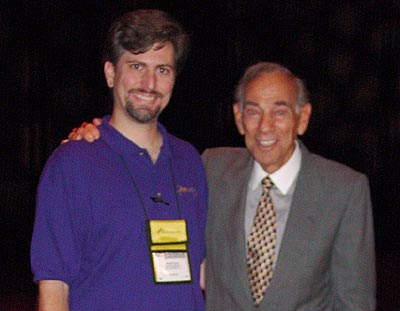 Brett with Herschel Gordon Lewis